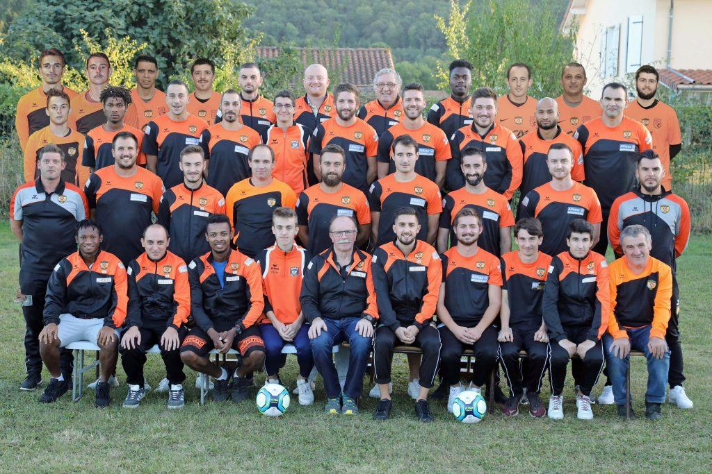 Equipe Sénior PSCF 2019-2020
