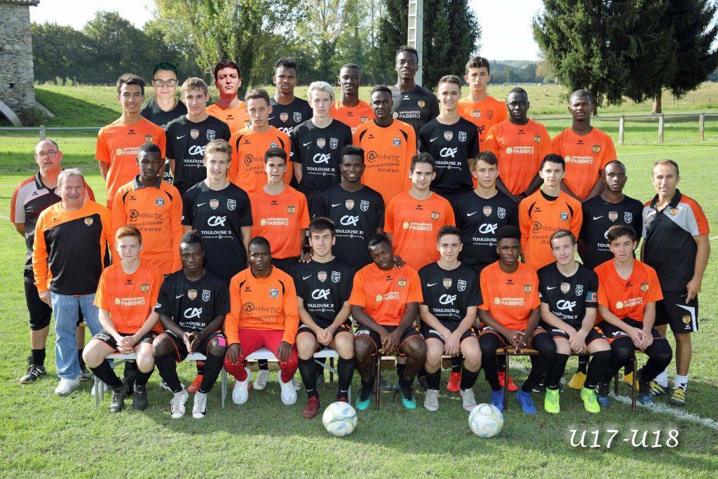 Equipe U18 PSCF 2019-2020